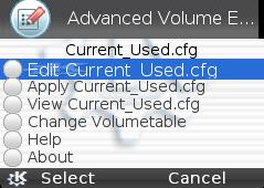 Intercambio de datos AdvancedVolumeEditor1.0